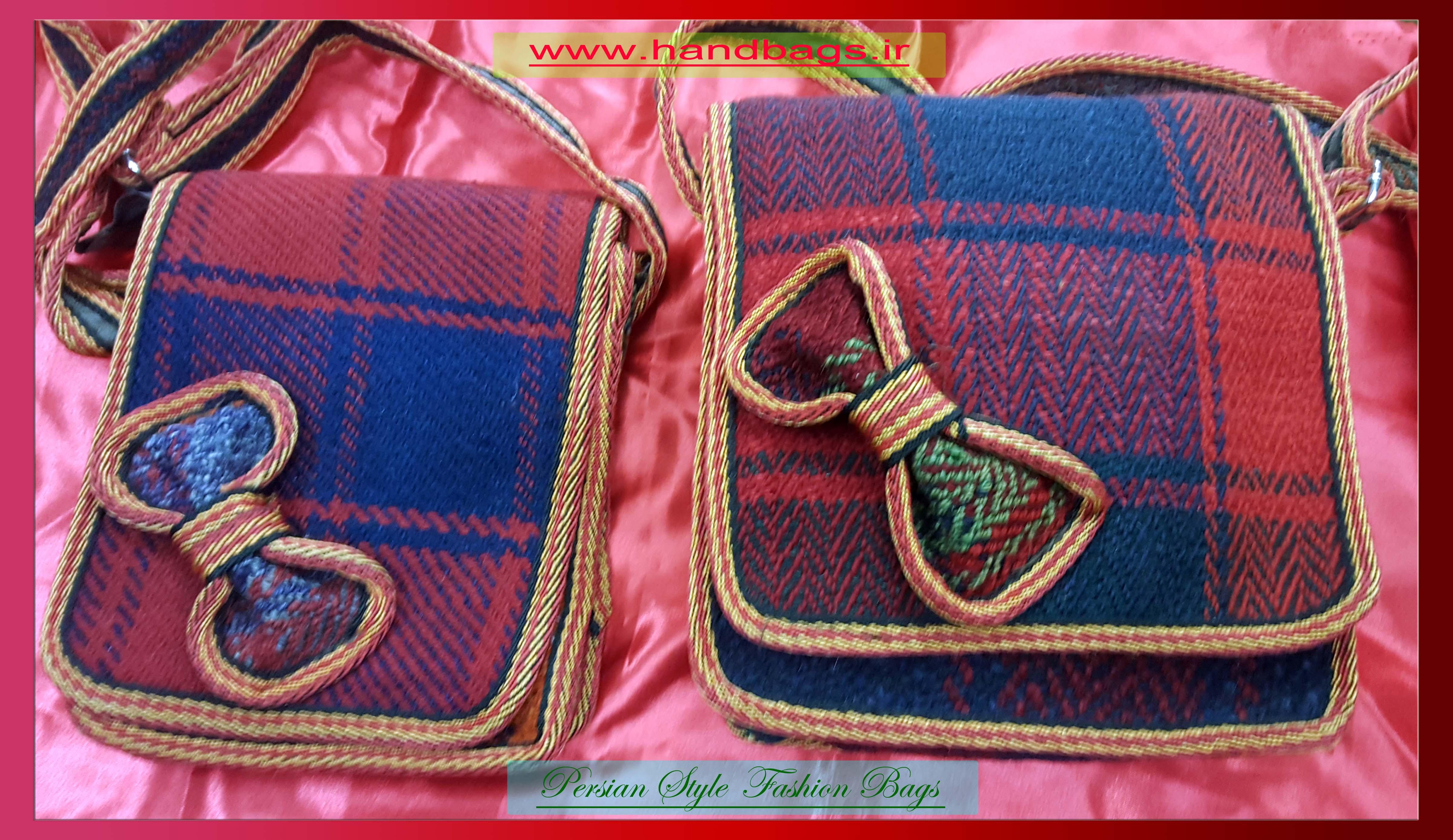کیف زنانه موج جاجیمی کوچک
