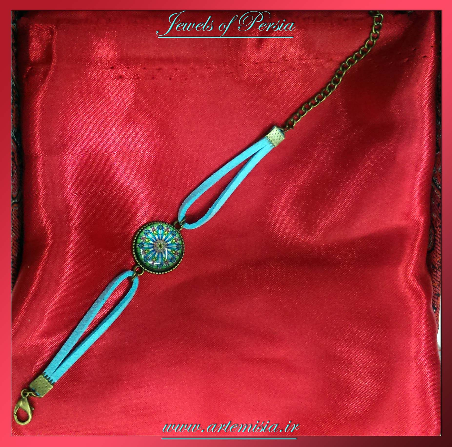 Colorful Resin Bracelet