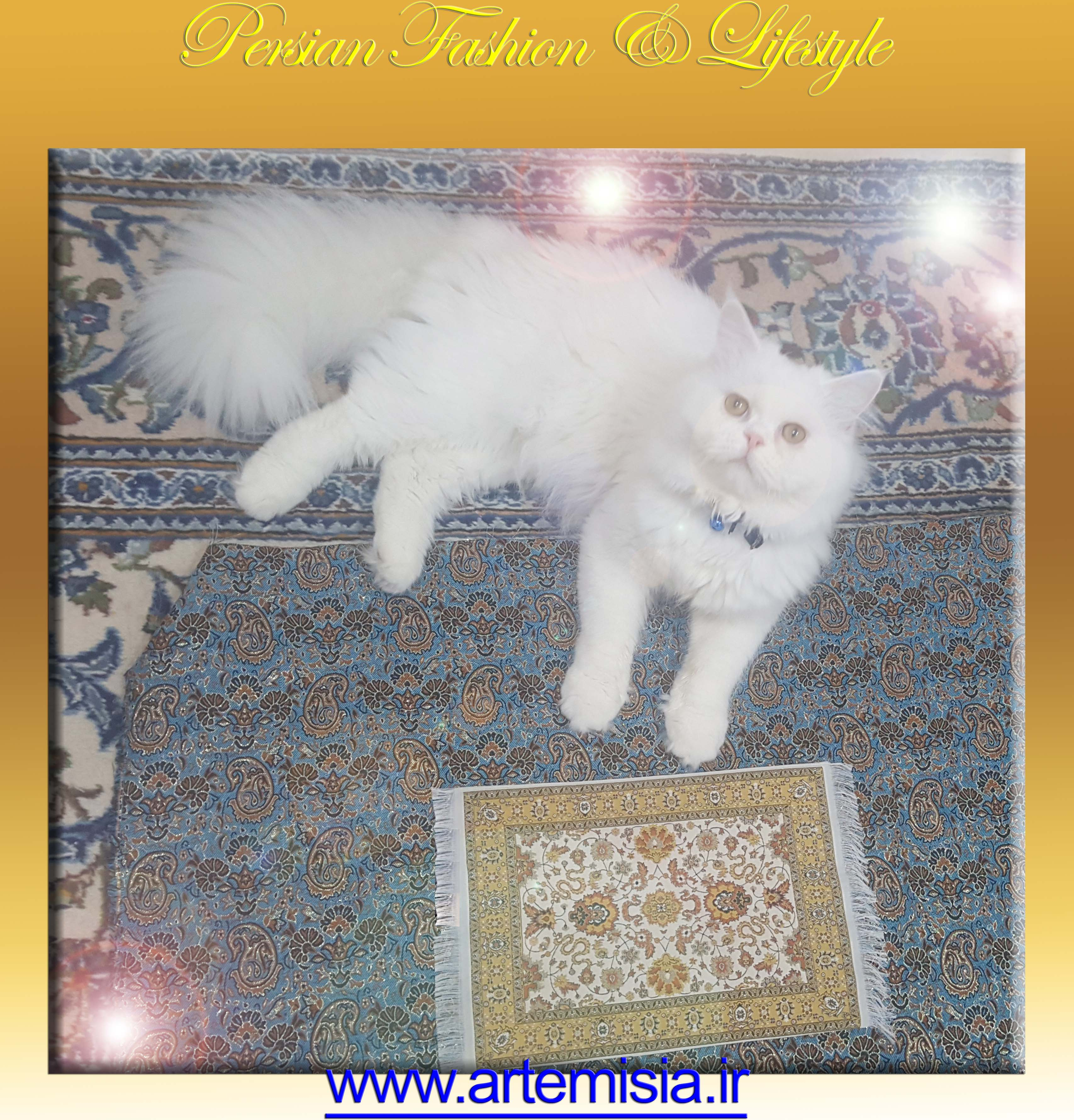 Baharestan Design Carpet Mouse Pad