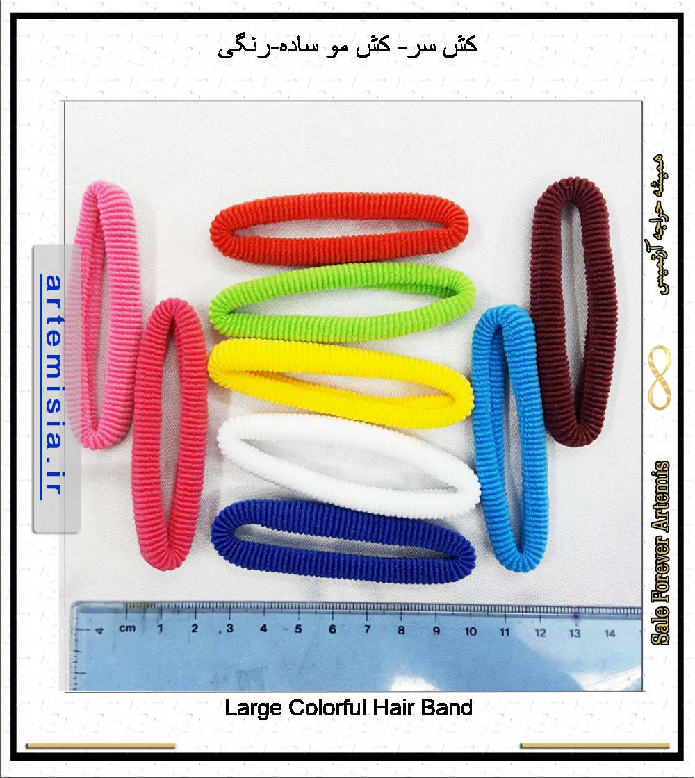 Large Colorful Hair Band