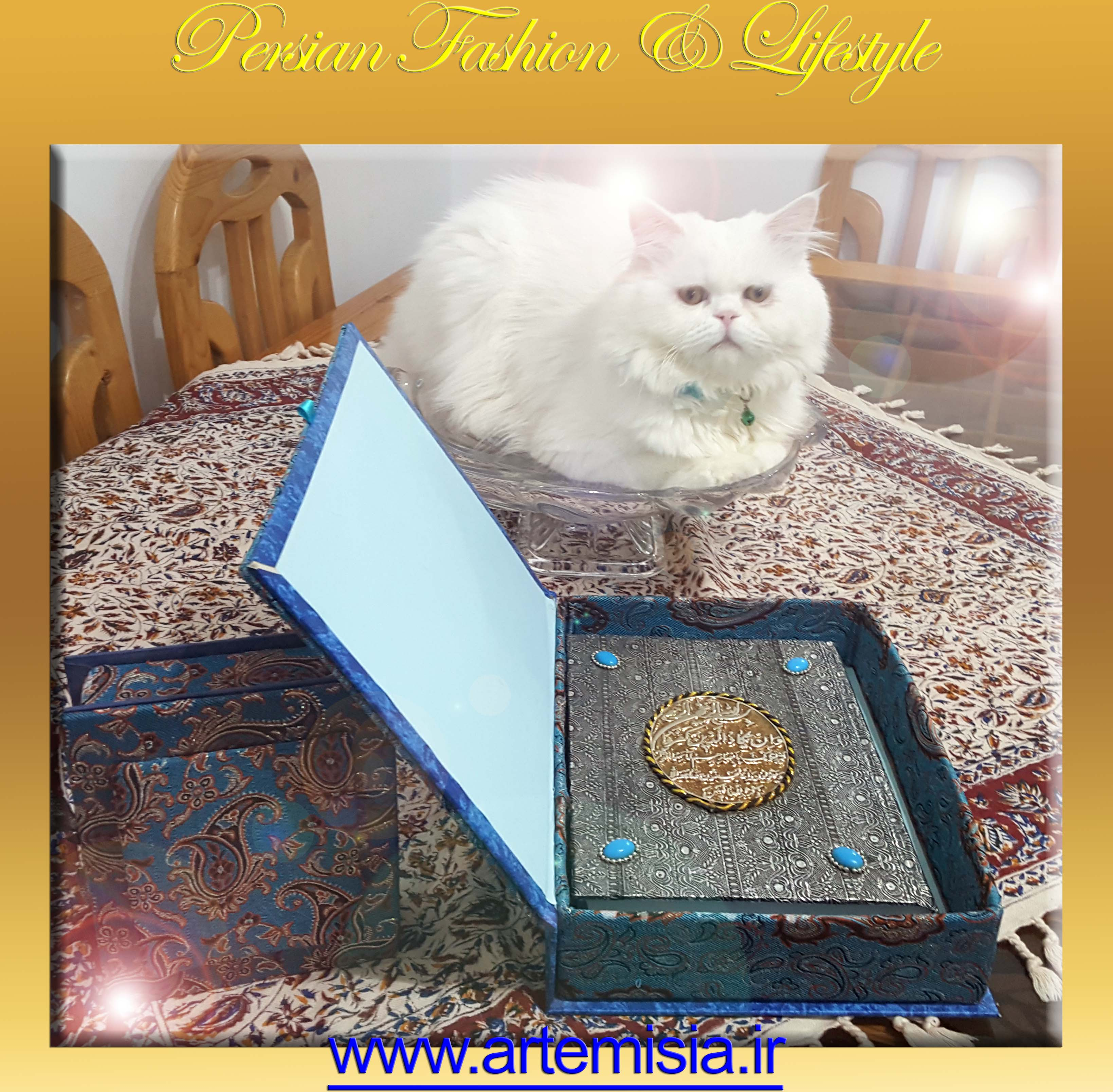 Persian Termeh-Boxes Sonnati-Jewel-Box